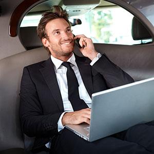Limousine für Shuttleservice mieten